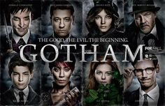 San Diego Comic-Con 2014 Exclusive Gotham Cast Television Poster