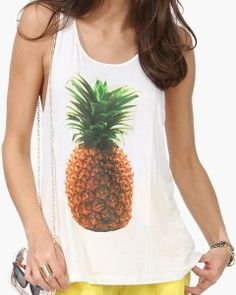 Pineapple top - Necessary clothing