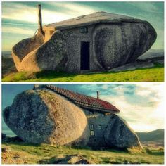 Unbelievable stone house in Portugal