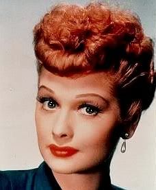 Lucille Ball is beautiful inside and out.  I have always liked her style and wanted to dress like her. ~KK