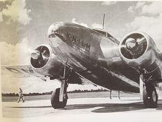 Lockheed L-14 Super Electra PK-AFQ