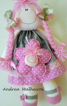 lots of instruction Doll Toys, Baby Dolls, Fabric Toys, Sewing Dolls, Soft Dolls, Diy Doll, Softies, Beautiful Dolls, Handicraft