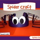 Printable Spider Hat Pattern I've done this and had the kids glue facts about spidrs on the legs
