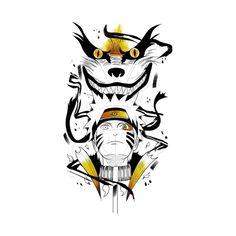 Check out this awesome 'naruto+x+kurama' design on Naruto E Kurama, Kurama Susanoo, Sasuke Uchiha Shippuden, Wallpaper Naruto Shippuden, Naruto Wallpaper, Anime Naruto, Boruto, Naruto Sketch Drawing, Naruto Drawings