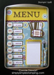"Just imagine life without the kids asking, ""Mom, what's for dinner?"" 