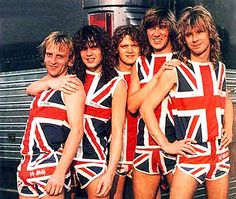 Def Leppard!  Yes, I had the shorts!  Even got the autograph of Phil Collen as he was coming out of their tour bus at the motel they were staying at in Spfld, MO!