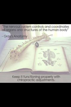 Free the nervous system!  Get adjusted! # chaskafamilychiropractic