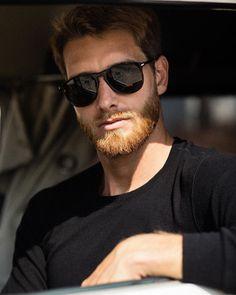 Gorgeous Redhead, Beautiful Men, Brown Beard, Redhead Men, Persol, Hairy Hunks, Ginger Men, Beard Gang, Beard No Mustache