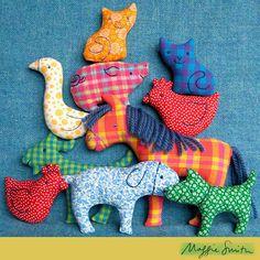 Big Farm Softies Sewing Pattern