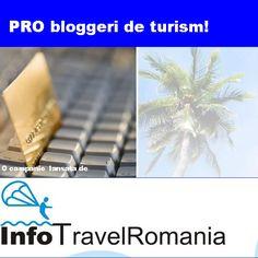PRO bloggeri de turism! Este a doua campanie de promovare lansata de site-ul InfoTravelRomania.ro (28 mai 2012). Ce isi propune aceasta campanie? Sa adune intr-un loc toti bloggerii de turism.  Vezi daca esti pe lista!  http://www.infotravelromania.ro/blog/top-bloguri-turism/