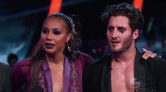 tamar dancing with the stars halloween makeup | Tamar Braxton and Val Chmerkovskiy dance Foxtrot (VIDEO)