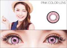 EOS Dolly Eye Pink - Circle Lenses & Colored Contacts