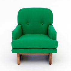 Melinda Chair in Green.