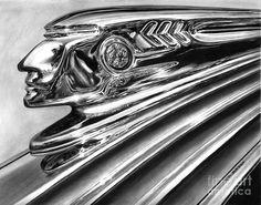 Pontiac Chieftain Abstract by Peter Piatt