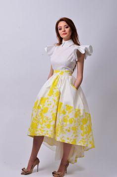 Carolina 4 Skirt by LauraGalic on Etsy