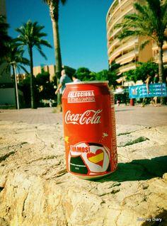 Coca-Cola, Palmanova beach
