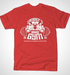 Zangiefs Gym - BustedTees - Image 1