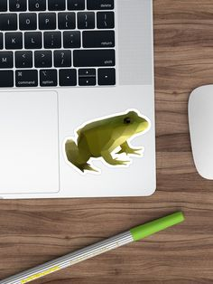 Bring out your wild side with our geometric frog art. Geometric Animal, Frog Art, Finding Yourself, Stickers, Artwork, Animals, Design, Work Of Art, Animales