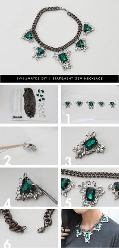 I am a big fan of statement necklaces. I love how they can elevate an outfit to the next level, especially when worn with very basic pieces like a white t-shirt and jeans. I made this project with …
