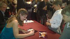 Concertgebouw Amsterdam, Janine Jansen Autographs for Luc Baerwind and Merlin Baerwind;