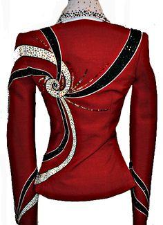 Red Showmanship Jacket and Pants :: Long Jackets & Tunics :: Show Me ...