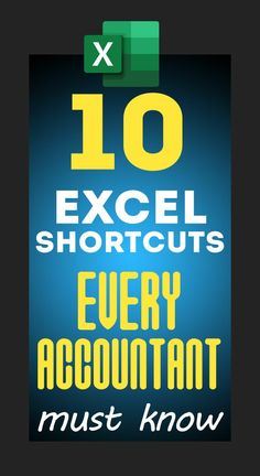 Top 10 Excel Keyboard Shortcuts for Accountants – Excel formulas and functions – Basic Excel Formulas Technology Hacks, Computer Technology, Computer Programming, Educational Technology, Energy Technology, Technology Wallpaper, Educational Leadership, Technology Design, Technology Logo