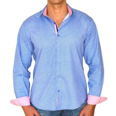 Giorgio Men's Slim Fit Pure Brato Casual Shirt