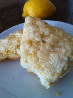 """Lemon scone. Delicious! The link goes to the home page of her site, but it's a good site. Spent some time searching """"lemon"""" and had a ball!"""
