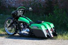 2011 Harley Davidson Custom Street GlideBagger Show winner and featured in magazines