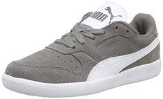 Puma Icra Trainer SD, Unisex-Erwachsene Sneakers, Grau (steel gray-white 19), 36 EU (3.5 Erwachsene UK) - http://on-line-kaufen.de/puma/36-eu-puma-icra-trainer-sd-unisex-erwachsene