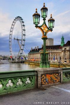London Eye, Londres, Inglaterra.