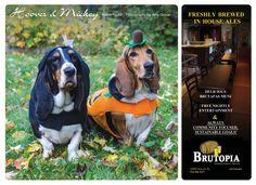 Hoover & Mickey 2013 Calendar, Fundraising, Entertaining, Funny, Fundraisers