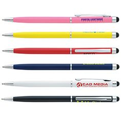 55661 - Touchscreen Stylus Pen is a great hand-out for wedding guests! #promoproducts