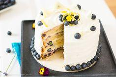 Blaubeere Zitronen Torte | Heisse Himbeeren