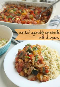 This super easy vegan ratatouille recipe takes just minutes to prepare and makes an awesome main meal or side dish. Plus it has a secret ingredient that adds loooads of flavour!