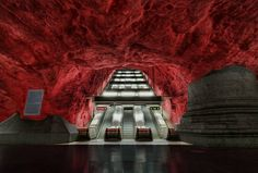 Subway in Stockholm, Sweden
