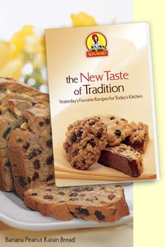 Free copy of Sun-Maid New Taste of Tradition cookbook. (pdf or request copy through the mail)