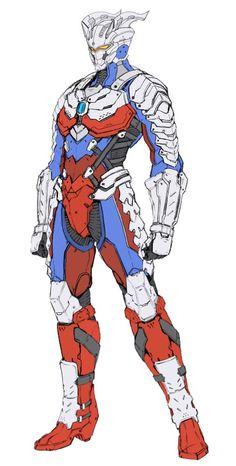 Superhero Suits, Superhero Design, Character Concept, Character Art, Character Design, Armor Concept, Concept Art, Combattler V, Mighty Power Rangers