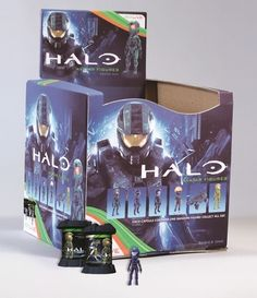 Halo: Xbox Live Avatar Series 1 in PDQ display