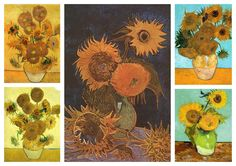 Vincent Van Gogh Collection II (Sunflowers)