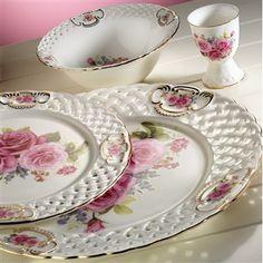 kütahya porselen takım #porcelain #kütahyaporselen #yemektakımı #çeyiz #shabby #vintage #retro