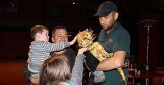 Erth's Dinosaur Zoo Opening Night at Riverside Theatres #RiversideFamily