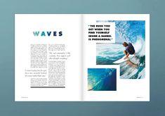 Magazine Layout Inspiration, Layout Design Inspiration, Magazine Layout Design, Magazine Layouts, Dashboard Design, Graphisches Design, Design Blog, Cover Design, Flat Design