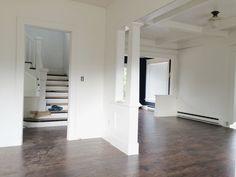 Budget hardwood flooring. home renovation blog thimble and cloth