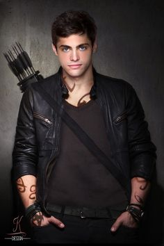 Matthew Daddario as Alec Lightwood #Shadowhunters #TV #TMI