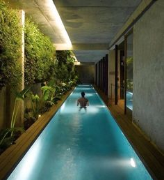 Lap pool for 3 rooms
