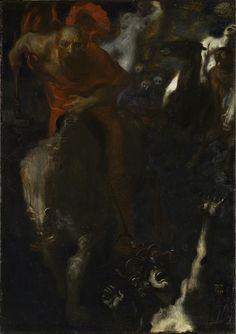 Franz von Stuck, La Chasse sauvage/ The Wild Hunt, 1899, Paris, musée d'Orsay
