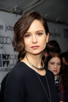 Katherine Waterston at event of Steve Jobs (2015)