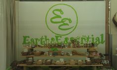 Natural soap diplay in EarthsEssential.com store.