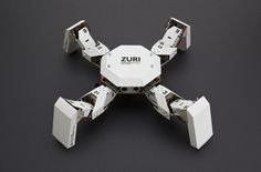 ZURI is a DIY, Programmable Robot That Kids Can Build with Cardboard | Inhabitots